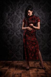 Heleen, chinese jurk 2016