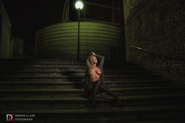 Kelly Van Hoorde, nachtshoot in Leuven 2016