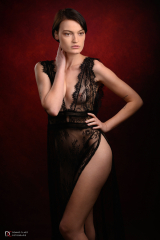 Mathilde, zwarte jurk 2019
