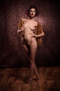 Sara, artistiek naakt 2016