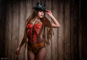 Steampunk Bodypaint 2017