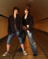 Wendy en Dorien 2008