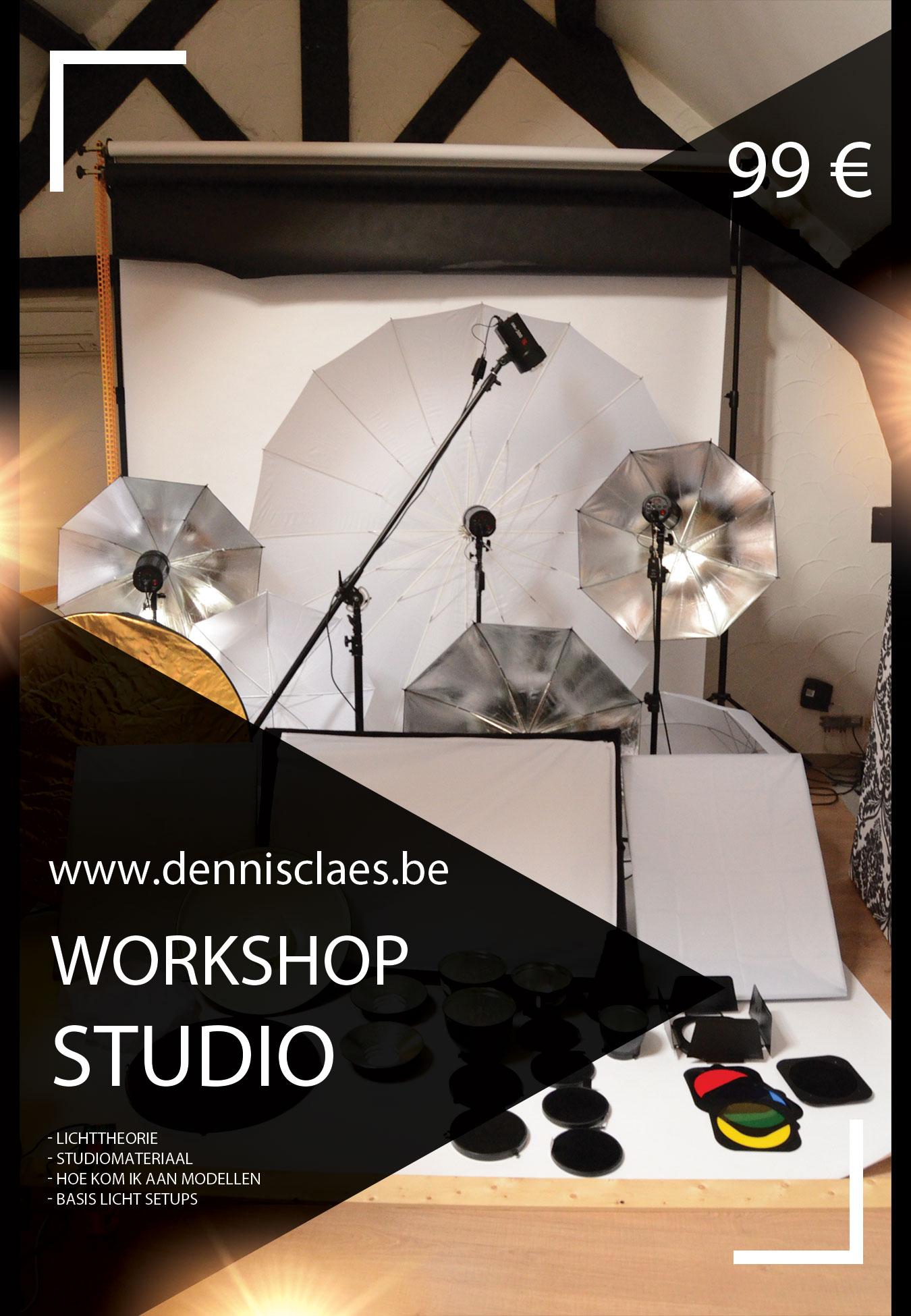 Studiofotografie voor beginners
