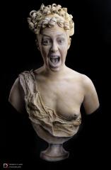 Screaming statue 2017